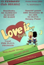 Love is ..=> Students party